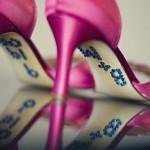 Pantofi de mireasa cu bling