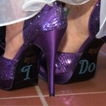 "Pantofi de mireasa ""I DO"""